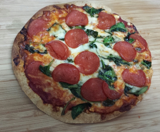 Low Calorie Gluten Free Pizza