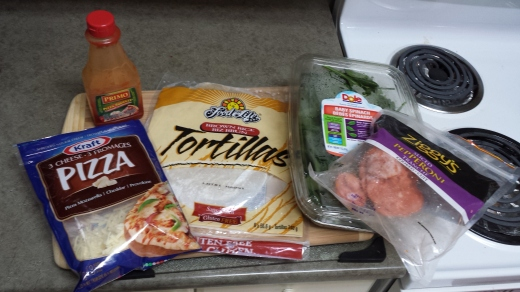Gluten free pizza ingredients