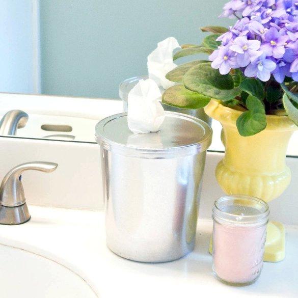 DIY bathroom cleaning cloths