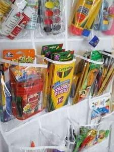 Organizing kids crafts